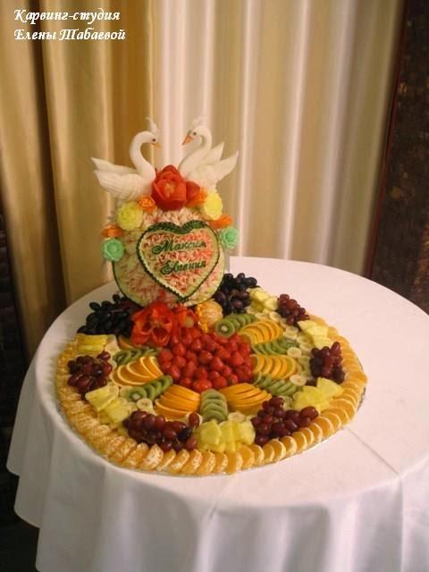 украшение из фруктов южно-сахалинск