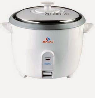Bajaj RCX 5 Rice Cooker 1.8-Litre