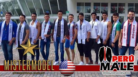 Candidatos llegan a Miami - Mister Model International 2015