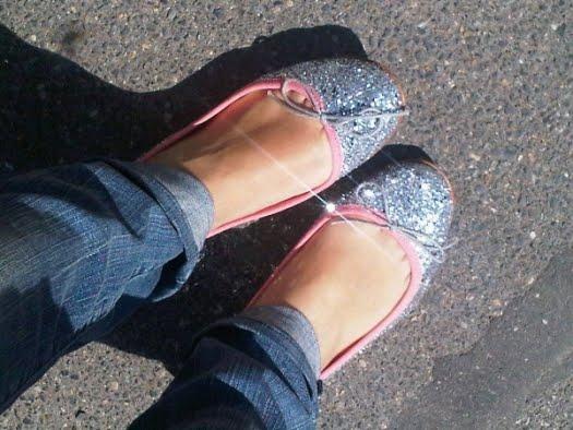 zapatos glitter