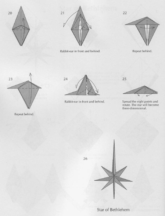 Papiroflexia para tod s estrella de belen - Origami de una estrella ...