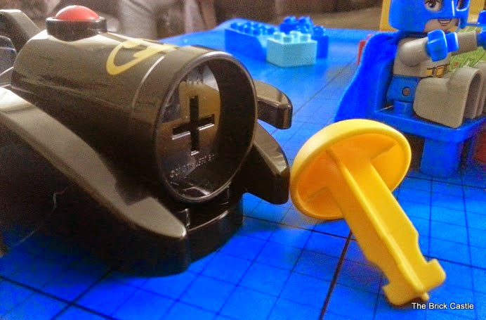 LEGO DUPLO Batcave Adventure set review Batman cannon and ammo