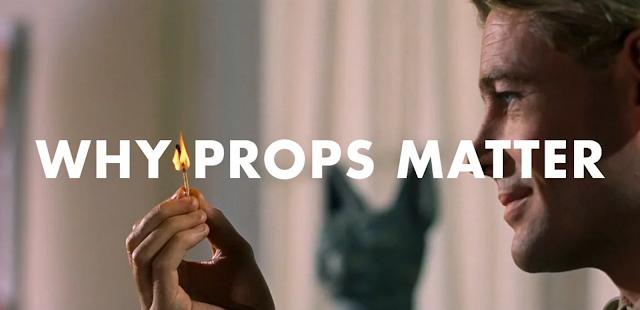Warum Requisiten so wichtig für Filme sind | Eine Videoerklärung ' Why Props Matter'