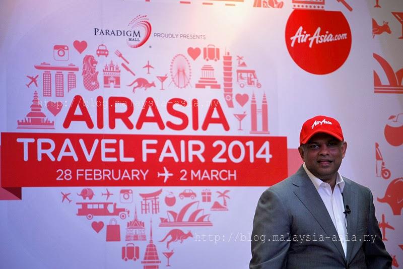 AirAsia Travel Fair 2014 Tony Fernandes