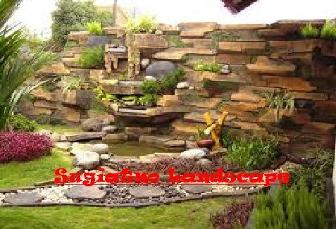 kolam minimalis | relif tebing | tukang taman