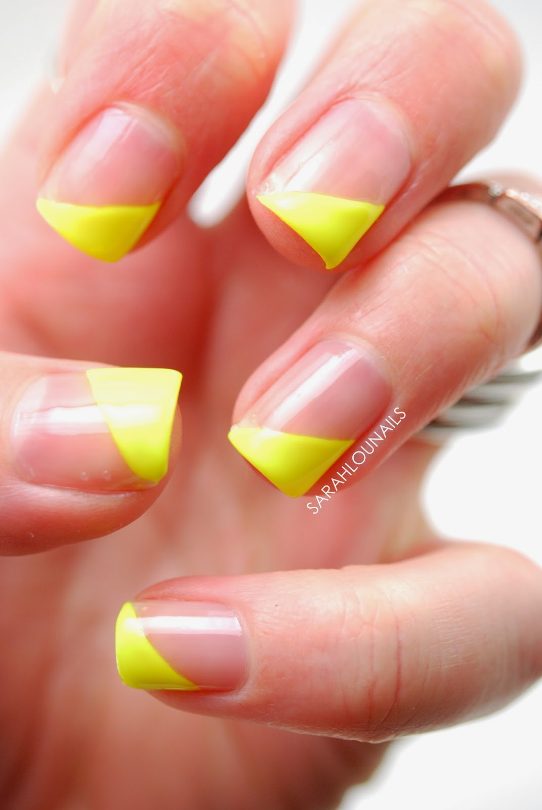 Sarah Lou Nails: Neon Tips Re-Do & Prom Nails!