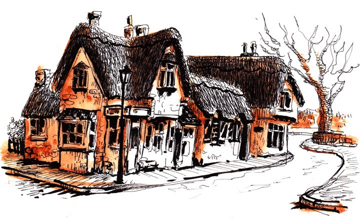 Shanklin, Old village couleur