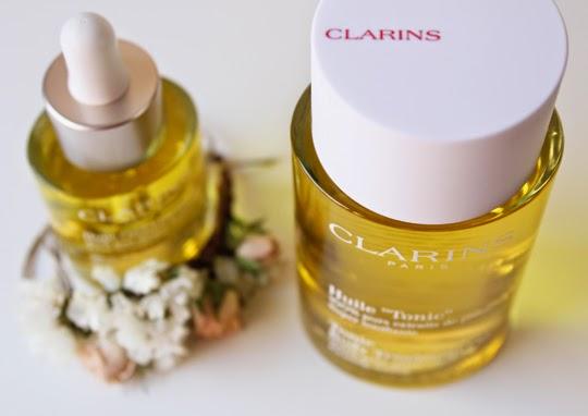 Clarins y sus aceites para rostro y cuerpo