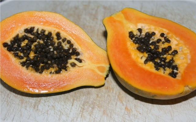 frisches Obst als Neujährchenfüllung
