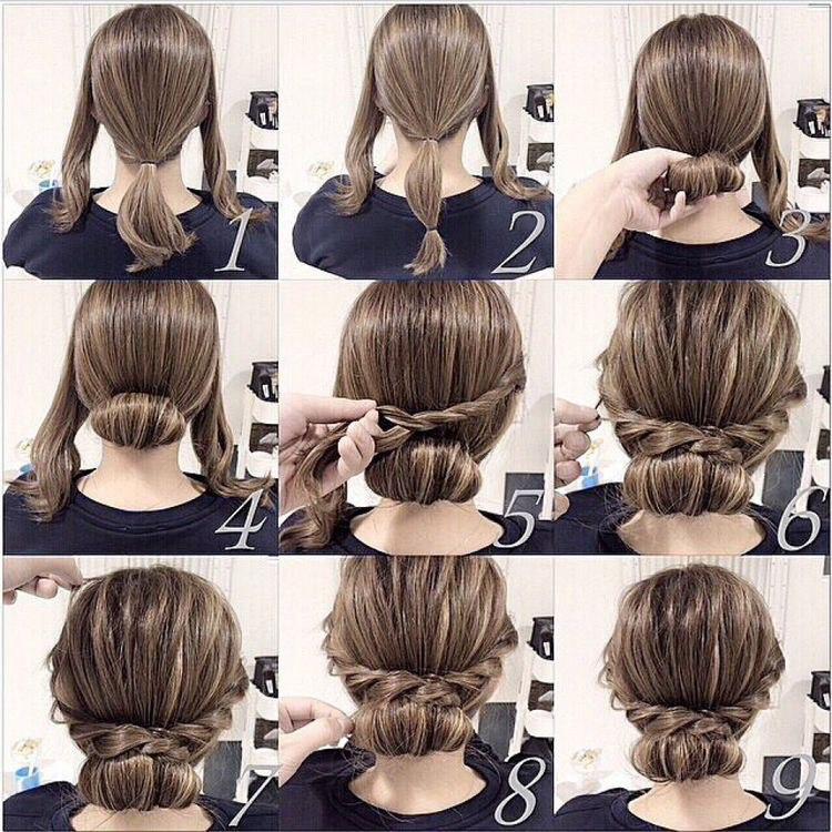 Красивые причёски на длинные волосы своими руками в домашних условиях фото