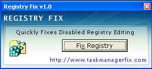 software membuka registry editor yang disable