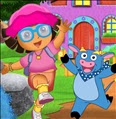 Dora With Benny Dress Up