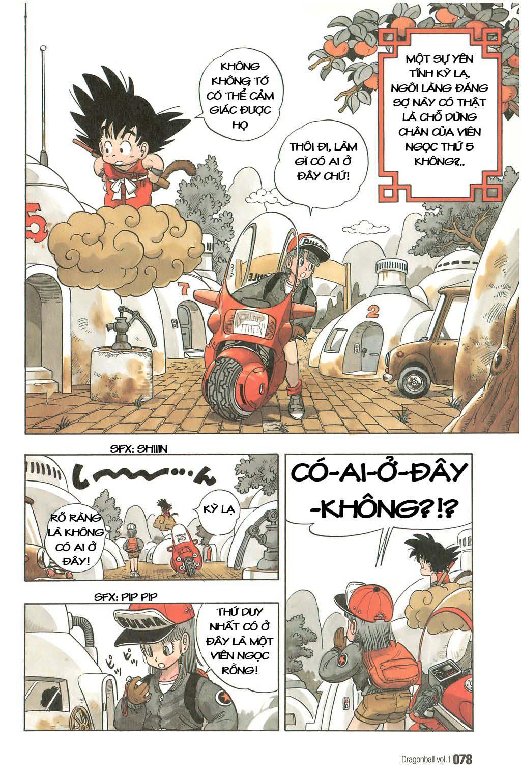 xem truyen moi - Dragon Ball Bản Vip - Bản Đẹp Nguyên Gốc Chap 5