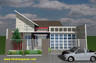 desain rumah minimalis tropis di mojokerto | sm - biro