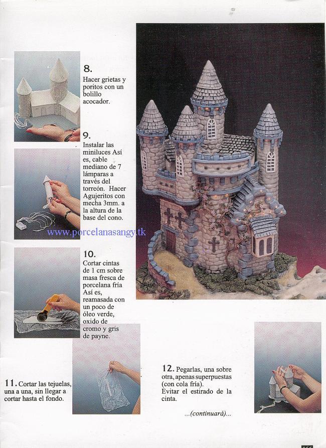 Manualidades luna clara castillos - Manualidades castillo medieval ...
