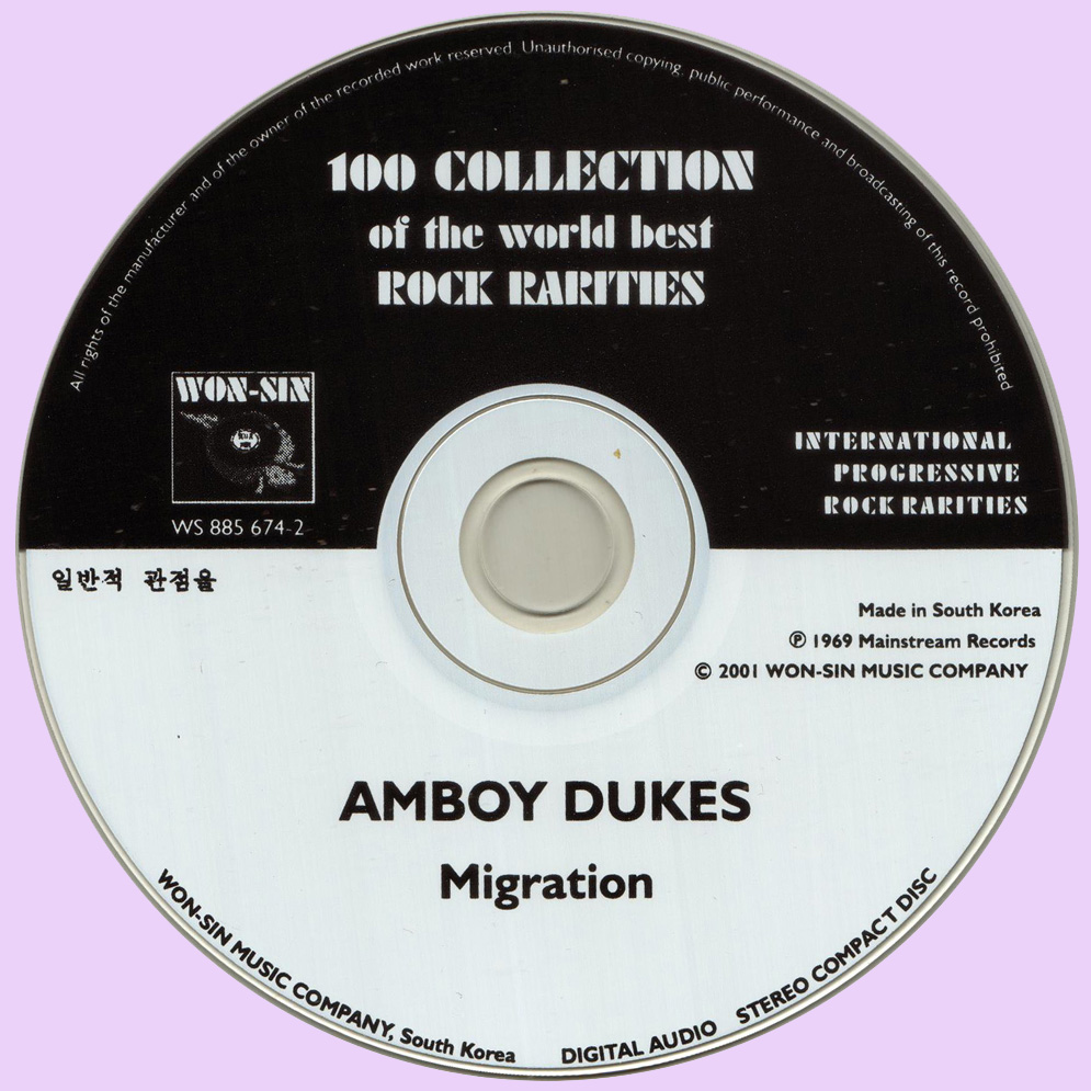 The Amboy Dukes Migration