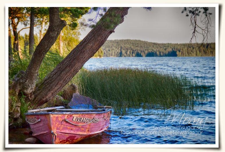 Molkomsjön, livräddningsbåt