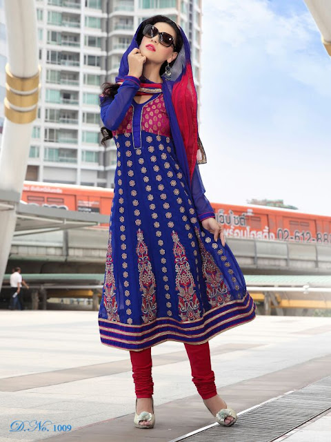 Designer Anarkali Salwar Kameez, Fancy Embroidery Anarkali Salwar Suits in Hydrabad