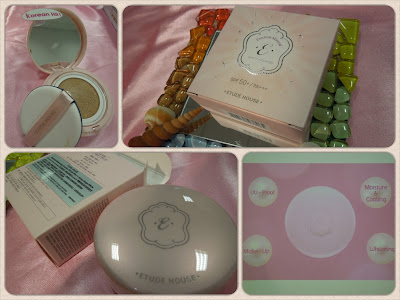 >> 入門價CC Cream*ETUDE HOUSE Precious Mineral Any Cushion 全效珍珠零瑕粉底霜SPF50+/PA+++