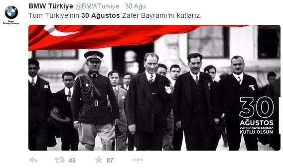 bmw-zafer-bayrami-sosyal-medya-paylasimi