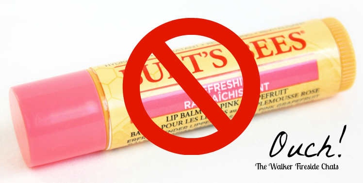 Burt's Bees Refreshing Grapefruit Lip Balm