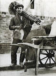 Chimney sweep, art of clean