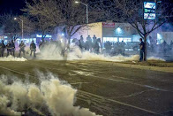 Albuquerque Police Tear Gas Protesters Demanding End to Police Violence