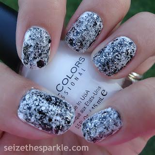 Black & White Manicure