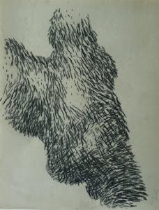 Fusain / papier 27x21 2013