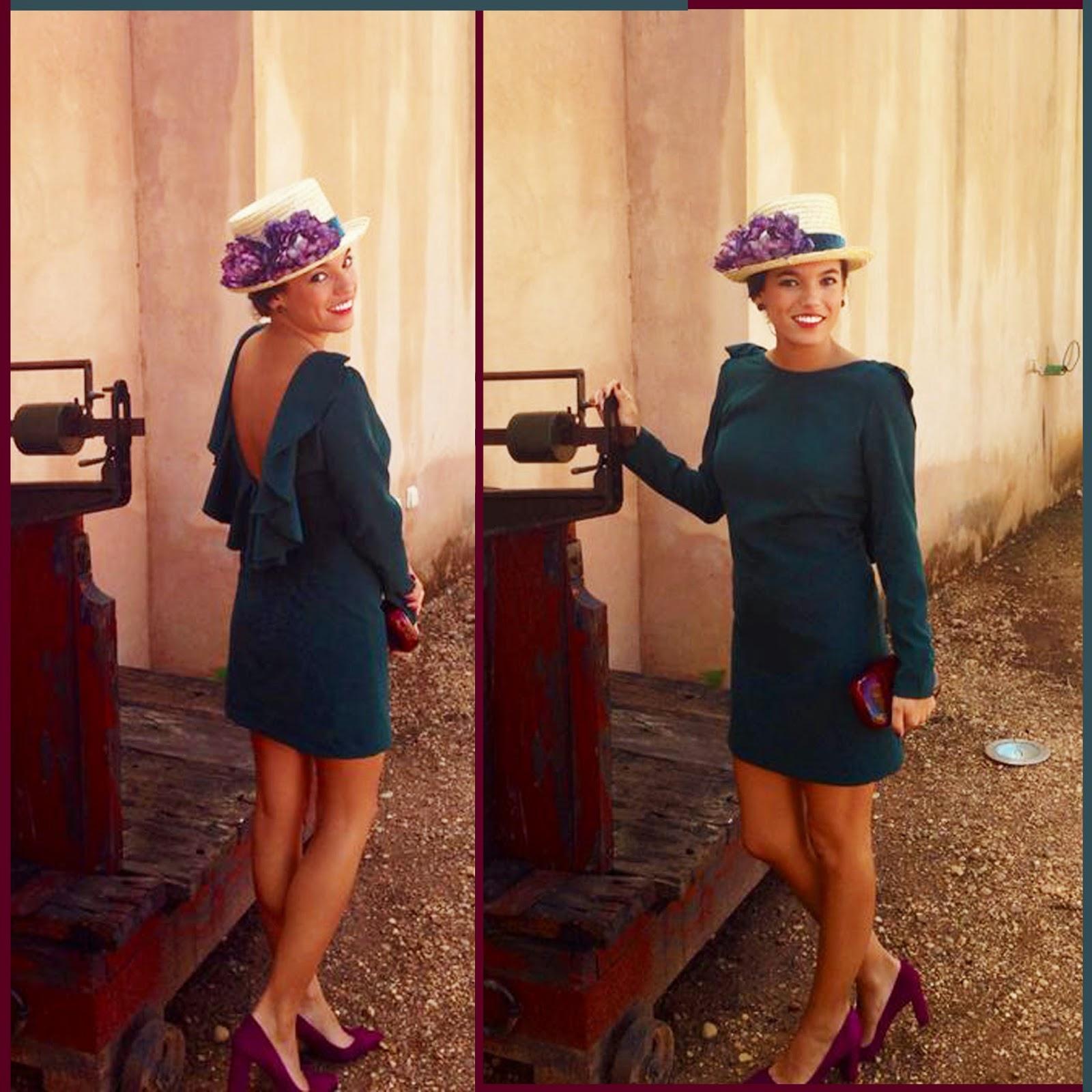 vestidos invitada boda manga larga