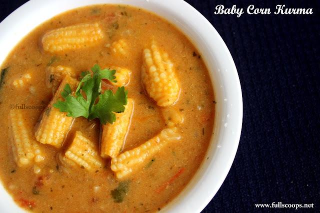 Baby Corn Kurma