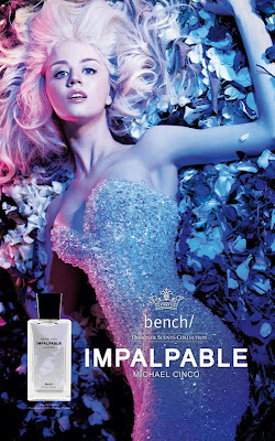 "Allison Harvard for Bench's Michael Cinco ""Impalpable"" Perfume Ad"