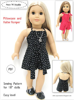 Pillowcase and Halter Romper PDF Instant Download Buy Now 4.50