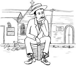 Illustration of Proust