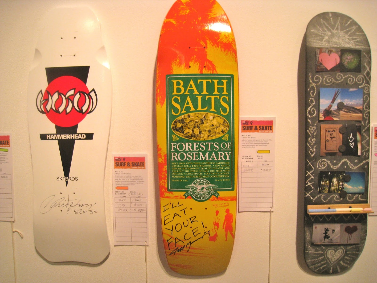 Blogtown: Venice Family Clinic Surf and Skate Silent Auction Fun