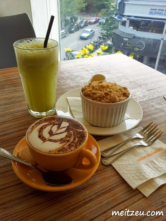 Marmalade Cafe Menu Malaysia