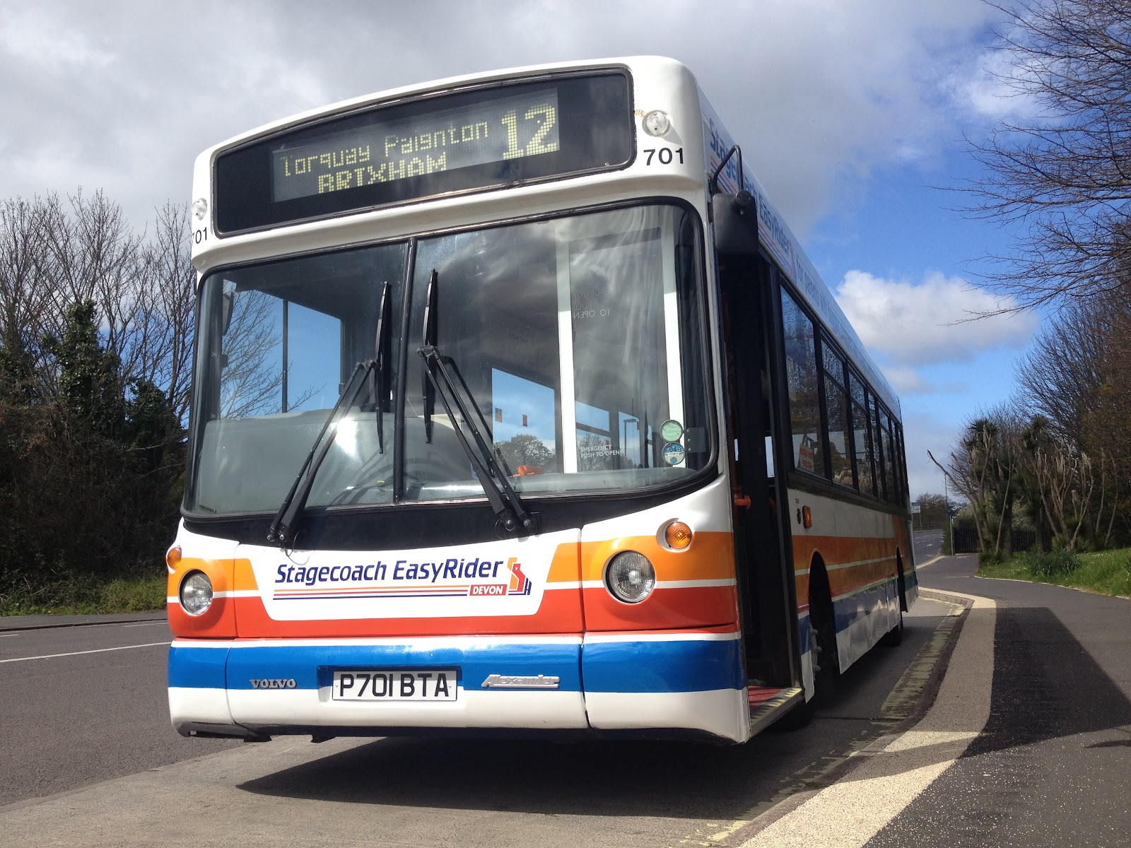 torbay bus routes: happy 15th birthday, 701! :-)