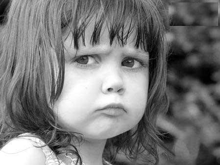 Baby Images Girl on Cute And Angry Face Girl Photo