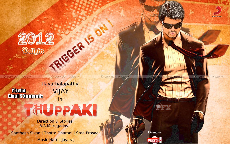 thuppakki movie wallpaperthuppakki new wallpaper
