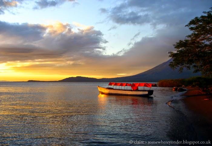 sunset - Isla de Ometepe - Nicaragua 2009