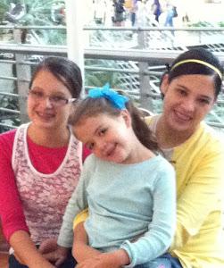 Jennifer, Mariane e Leiliane