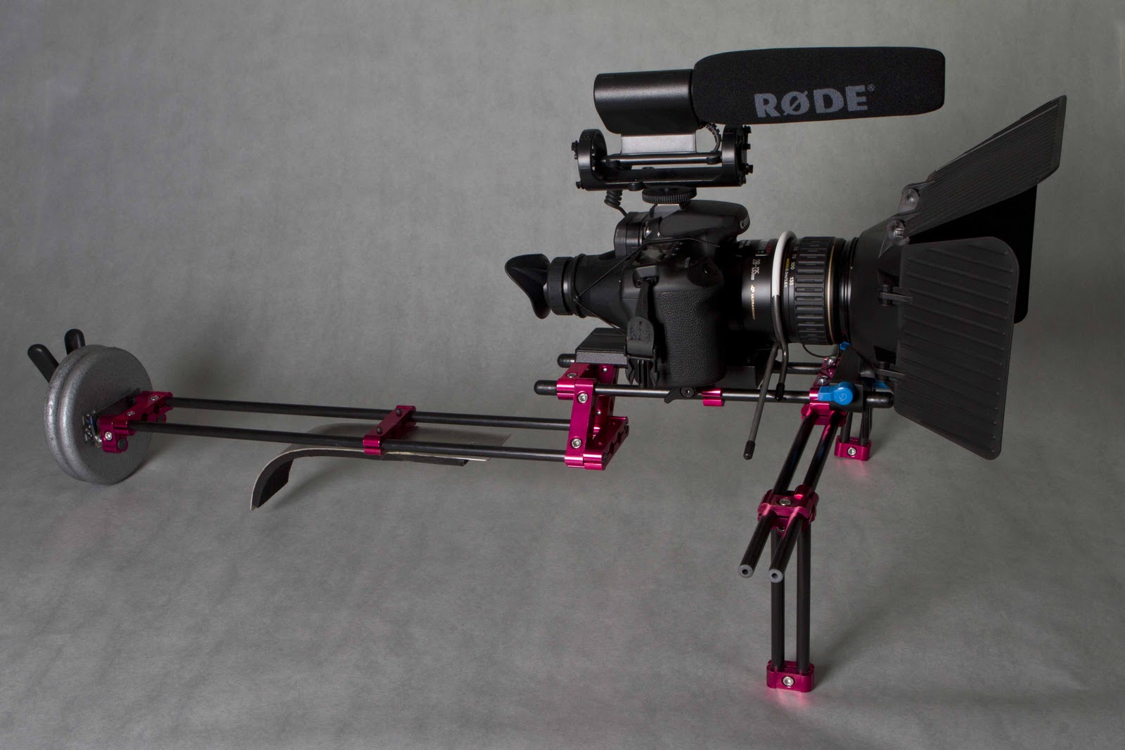 Camera Diy Dslr Camera Rig photozblog com diy dslr shoulder rig i came across a named the johan plug wire clamp this was setup liked because it gave feel of true system at cost effective