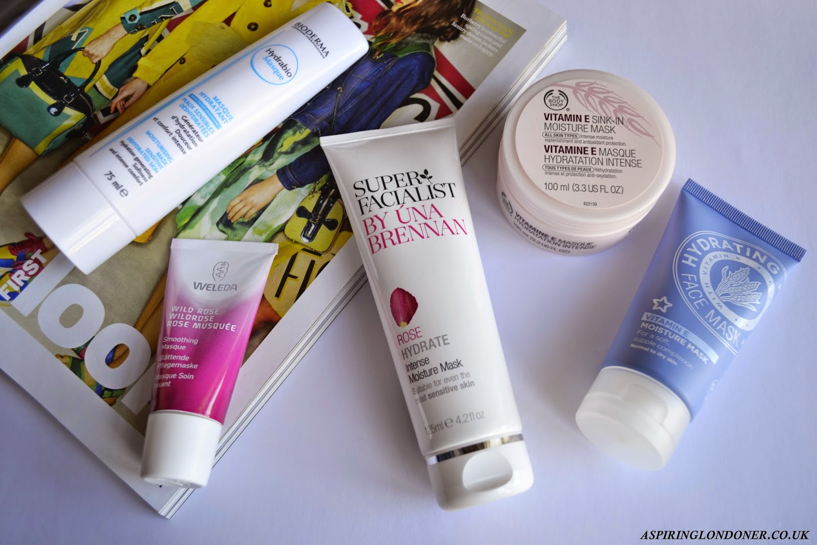 Hydrating Drugstore Face Masks Review ft Superfacialist, Bioderma, Weleda, Superdrug & The Body Shop - Aspiring Londoner