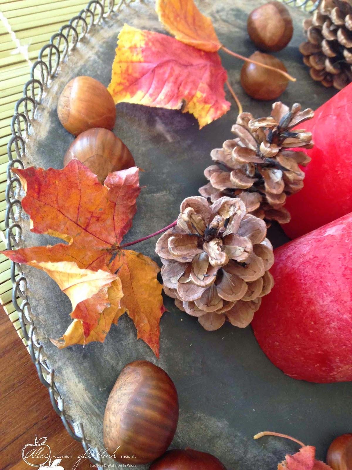Herbstliche Apfel-Waldhonig-Nuss-Tarte