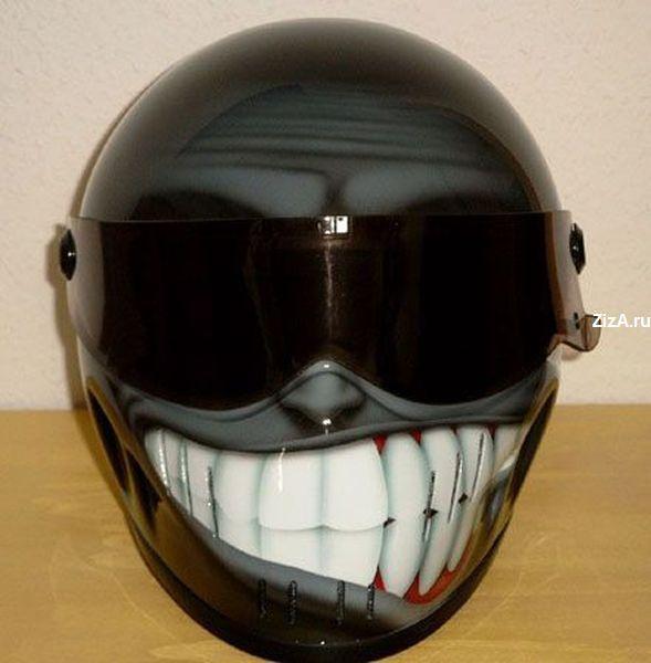 Peinture sur casque moto...... Casque-moto-tunning