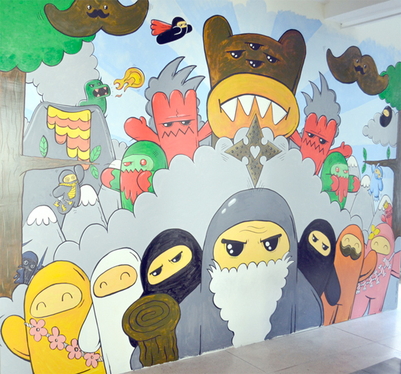 mural art work - pr nyc