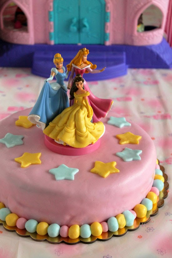 Disney princesses birthday party
