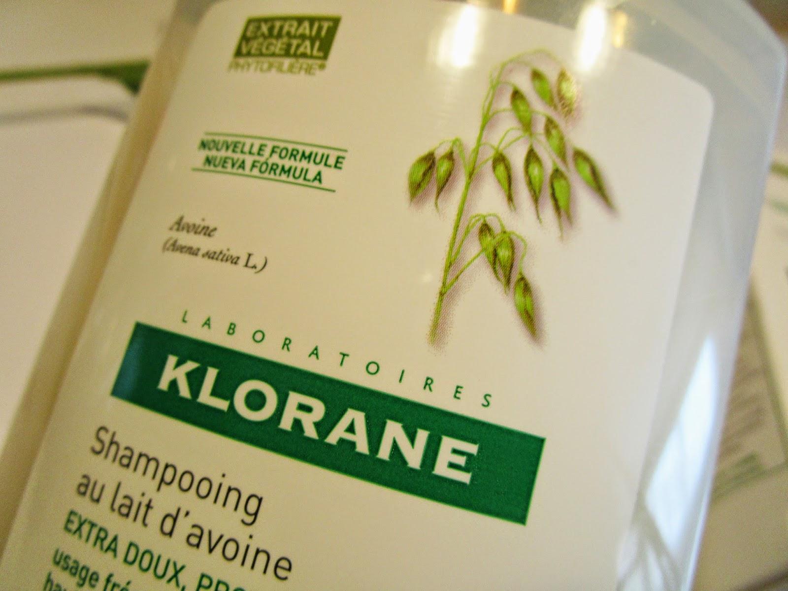 Champú Extra-suave a la Leche de Avena de Klorane,