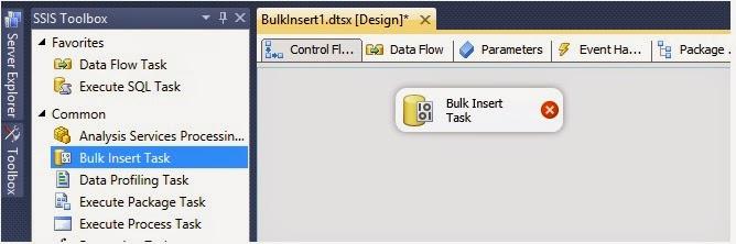 msbi ssis bulk insert task