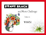 I'm a winner at Penny Black and More Challenge